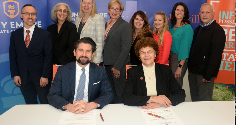 SUNY Cobleskill and Empire State College Partner to Streamline Graduate School Opportunities for Students
